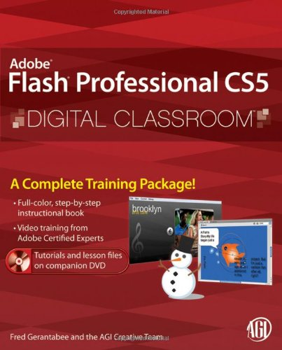 Adobe Flash Professional CS5 Digital Classroom [With DVD] 9780470607763