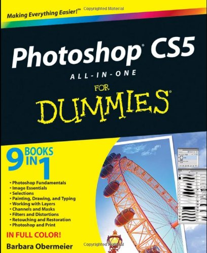 Photoshop CS5 All-In-One for Dummies 9780470608210