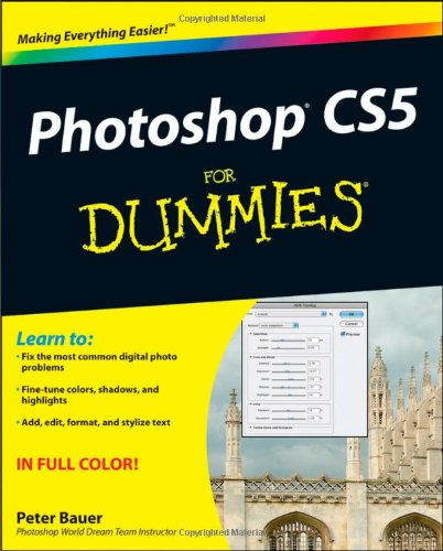 Photoshop CS5 for Dummies 9780470610787