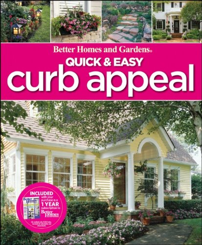 Quick & Easy Curb Appeal 9780470612774