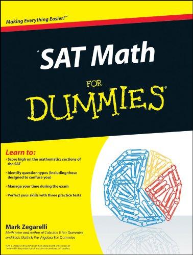 SAT Math for Dummies 9780470620854