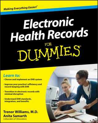 Electronic Health Records for Dummies 9780470623657