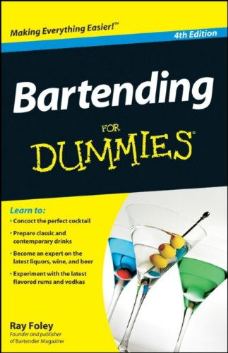 Bartending for Dummies 9780470633120
