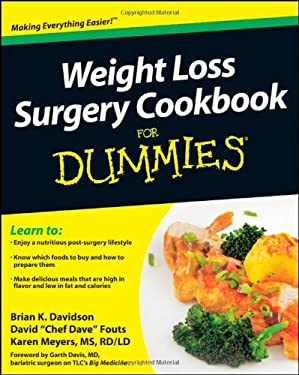 Weight Loss Surgery Cookbook for Dummies 9780470640180