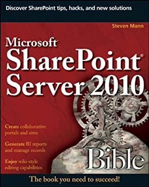 Microsoft SharePoint Server 2010 Bible 9780470643839