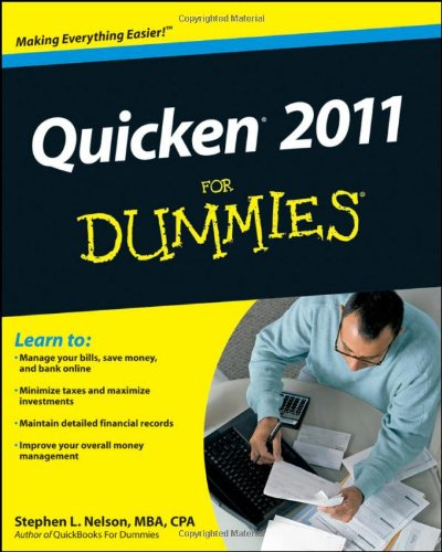 Quicken 2011 for Dummies 9780470646489