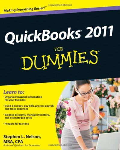 QuickBooks 2011 for Dummies 9780470646496