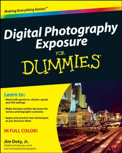 Digital Photography Exposure for Dummies 9780470647622