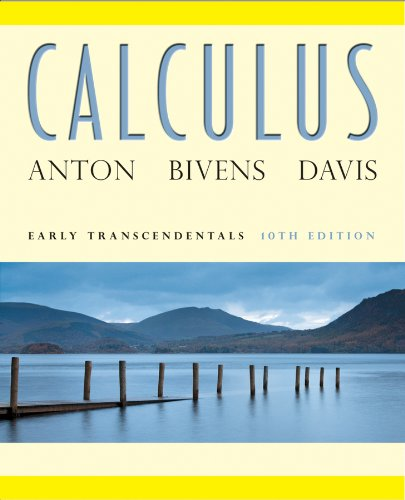 Calculus : Early Transcendentals