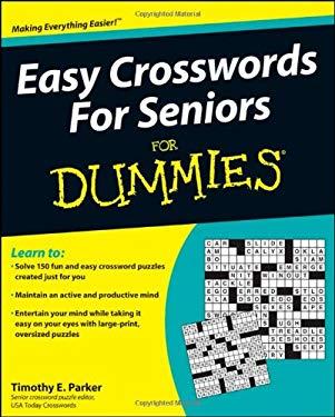 Easy Crosswords for Seniors for Dummies 9780470648704