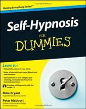 Self-Hypnosis for Dummies [With CD (Audio)]