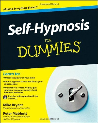 Self-Hypnosis for Dummies [With CD (Audio)] by Mike Bryant