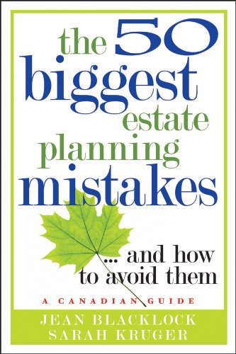 The 50 Biggest Estate Planning Mistakes...and How to Avoid Them 9780470681626