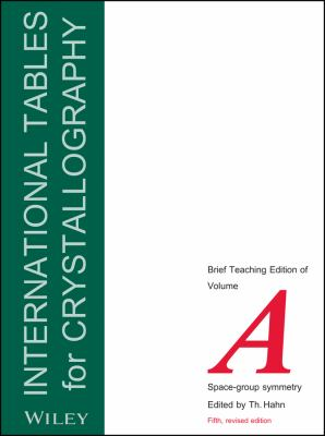 International Tables for Crystallography, Space Group Symmetry: Brief Teaching Edition 9780470689110