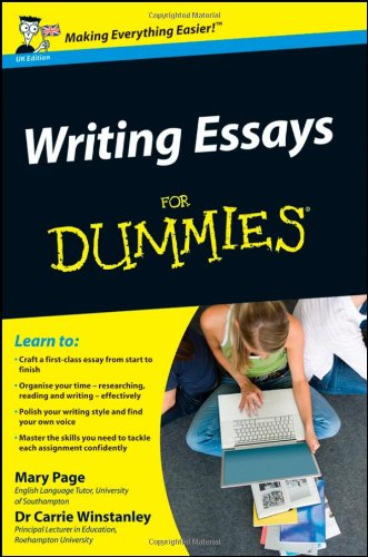 Writing Essays for Dummies 9780470742907
