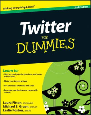Twitter for Dummies 9780470768792