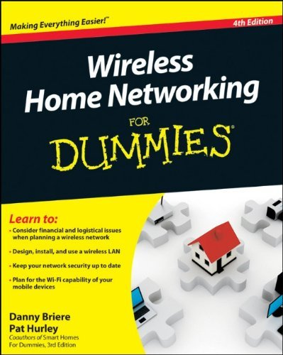 Wireless Home Networking for Dummies 9780470877258