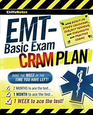 CliffsNotes EMT-Basic Exam Cram Plan 9780470878132
