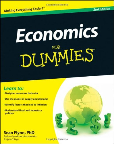 Economics for Dummies 9780470879481