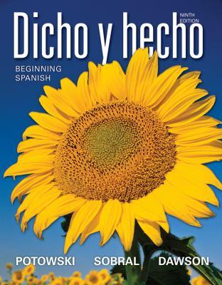 Dicho y Hecho: Beginning Spanish 9780470880609
