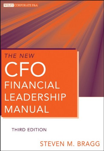 The New CFO Financial Leadership Manual 9780470882566