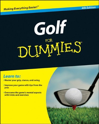 Golf for Dummies 9780470882795