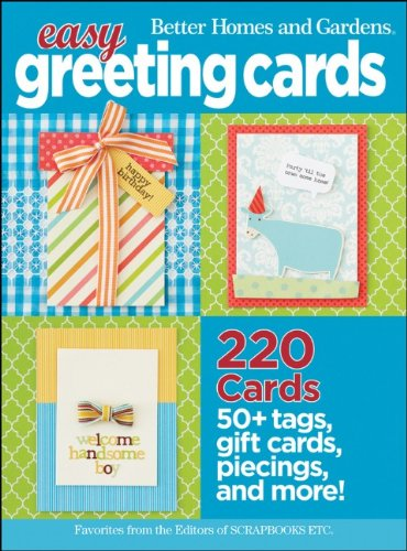 Better Homes and Gardens Easy Greeting Cards 9780470887110