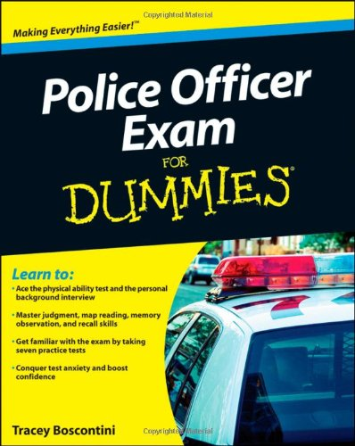 Police Officer Exam for Dummies 9780470887240