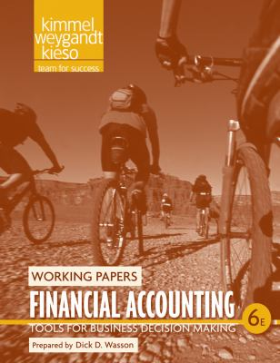 Financial Accounting Working Papers: Tools for Business Decision Making 9780470887936