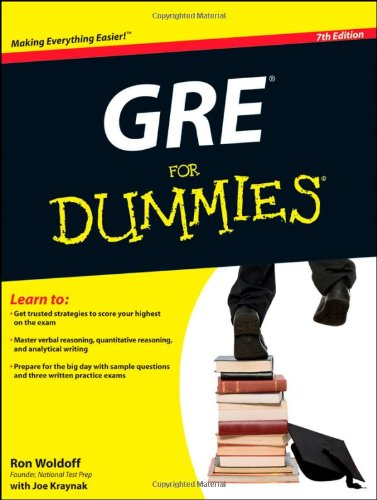 GRE for Dummies 9780470889213