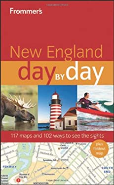 Frommer's New England Day by Day [With Map] 9780470890752