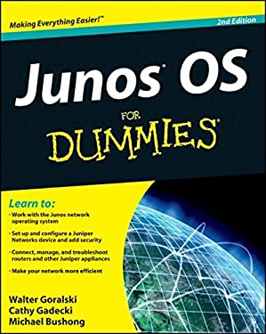 Junos OS for Dummies 9780470891896