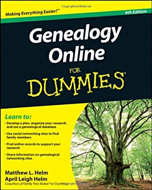 Genealogy Online for Dummies 9780470916513