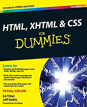 HTML, XHTML & CSS for Dummies 9780470916599