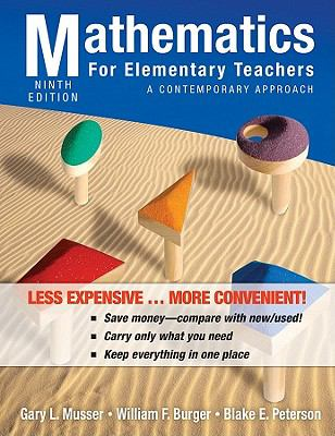 Mathematics for Elementary Teachers: A Contemporary Approach 9780470917596