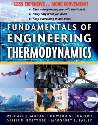 Fundamentals of Engineering Thermodynamics, Binder Version 9780470917688