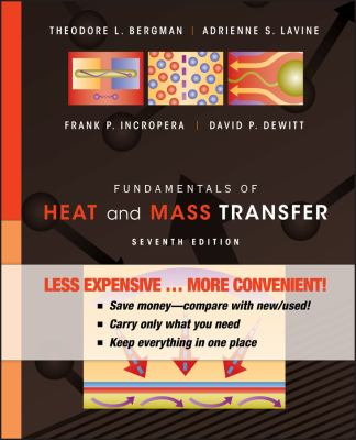 Fundamentals of Heat and Mass Transfer, Binder Version 9780470917855
