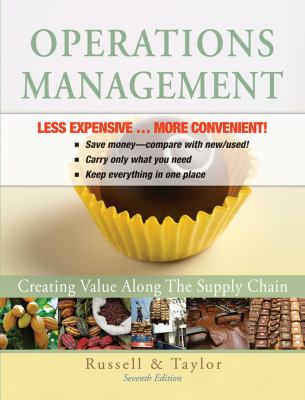 Operations Management, Binder Version: Creating Value Along the Supply Chain 9780470922514