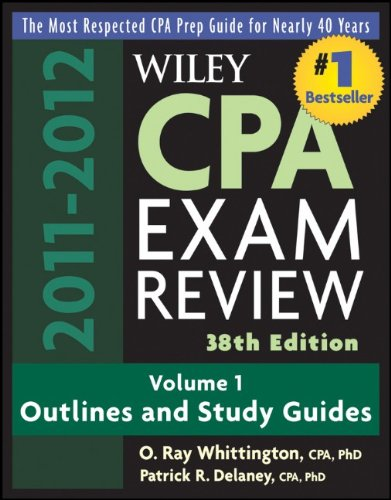 Wiley CPA Examination Review, Volume 1: Outlines and Study Guides 9780470923832