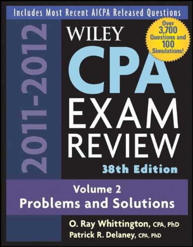 Wiley CPA Exam Review, Volume 2: Problems and Solutions 9780470923849