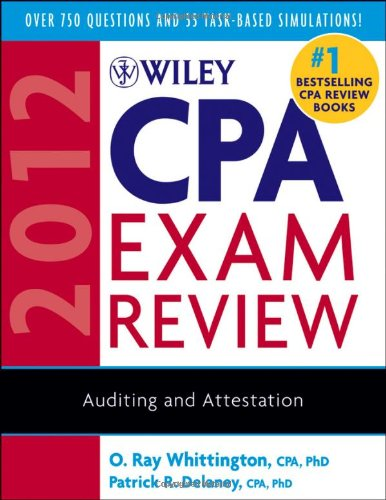 Wiley CPA Exam Review: Auditing and Attestation 9780470923900