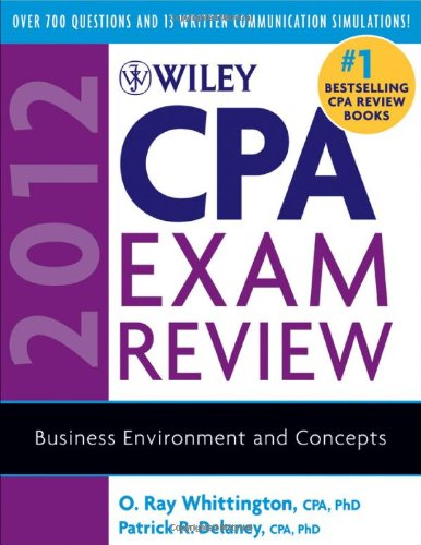 Wiley CPA Exam Review: Business Environment and Concepts 9780470923917