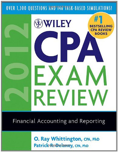 Wiley CPA Exam Review: Financial Accounting and Reporting 9780470923924