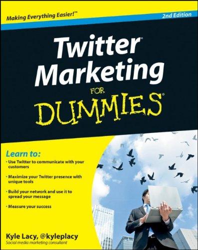 Twitter Marketing for Dummies 9780470930571