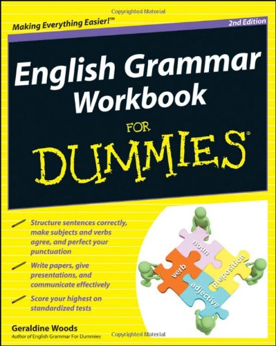 English Grammar Workbook for Dummies 9780470930700