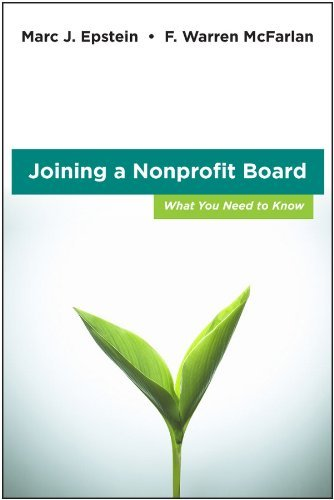 Joining a Nonprofit Board: What You Need to Know 9780470931257