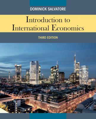 Introduction to International Economics 9780470934890