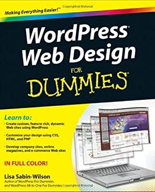 WordPress Web Design for Dummies 9780470935033