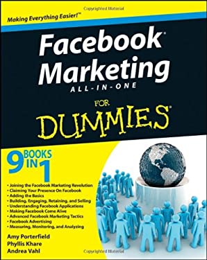 Facebook Marketing All-In-One for Dummies 9780470942307