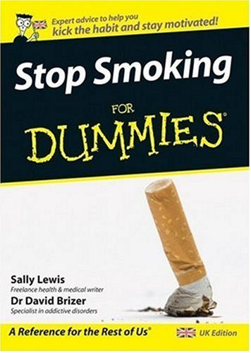Stop Smoking for Dummies 9780470994566